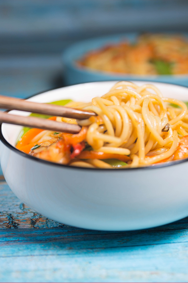 shrimp lo mein recipes