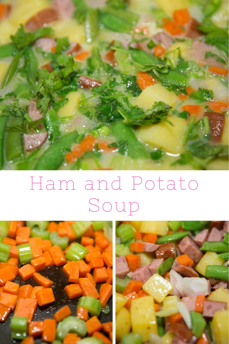 HOW DO YOU MAKE HAM AND POTATO SOUP?