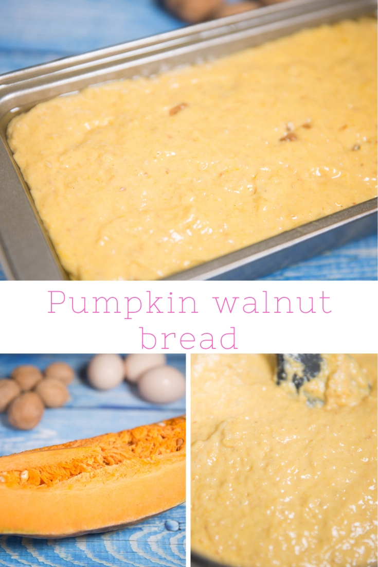 HOW TO MAKE PUMPKIN WALNUT BREAD?