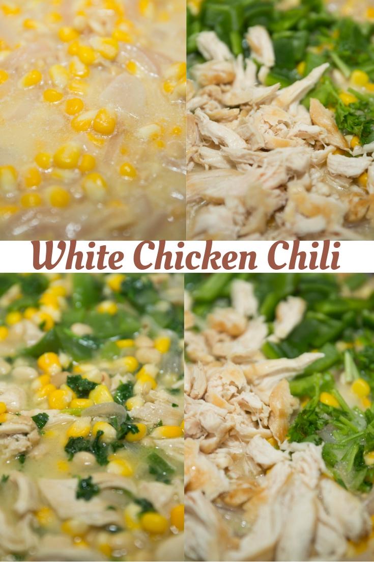 How to make White chicken chili :