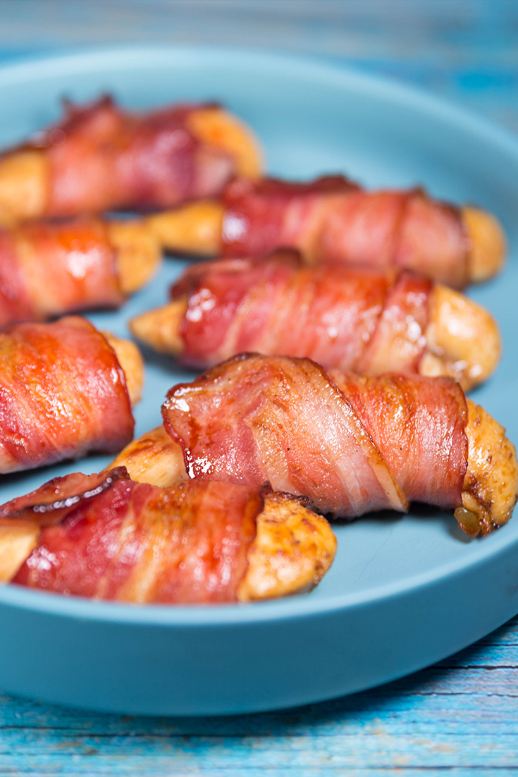 bacon wrapped chicken recipes