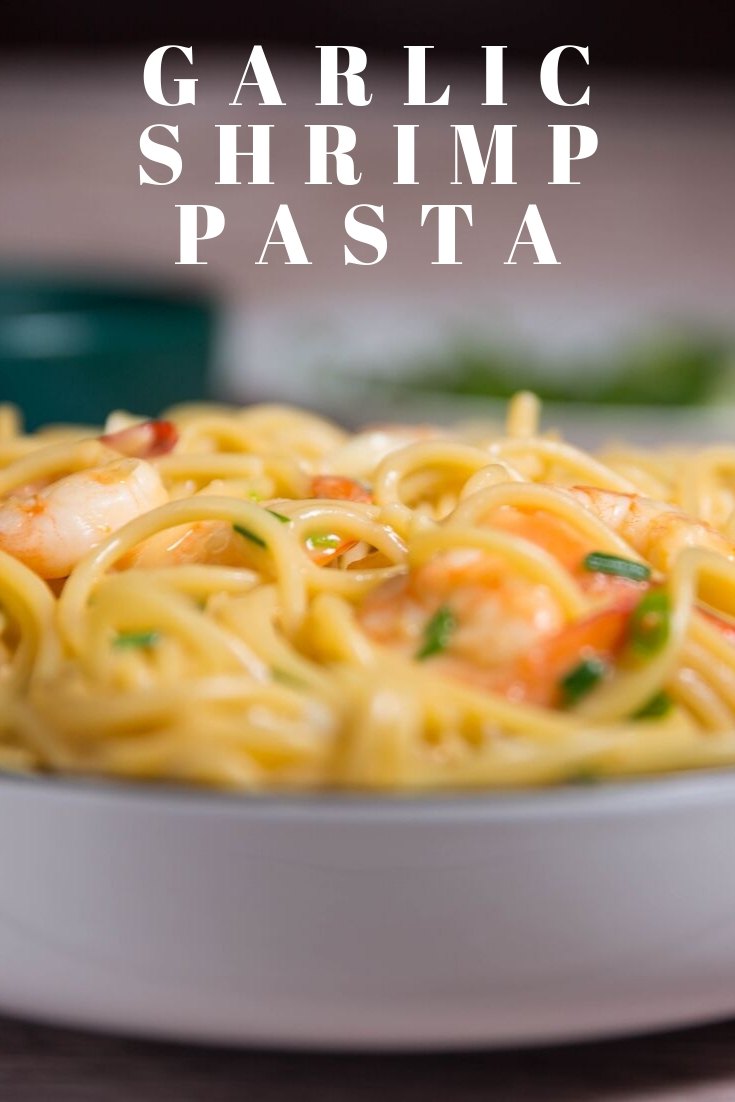 garlic shrimp pasta recipes