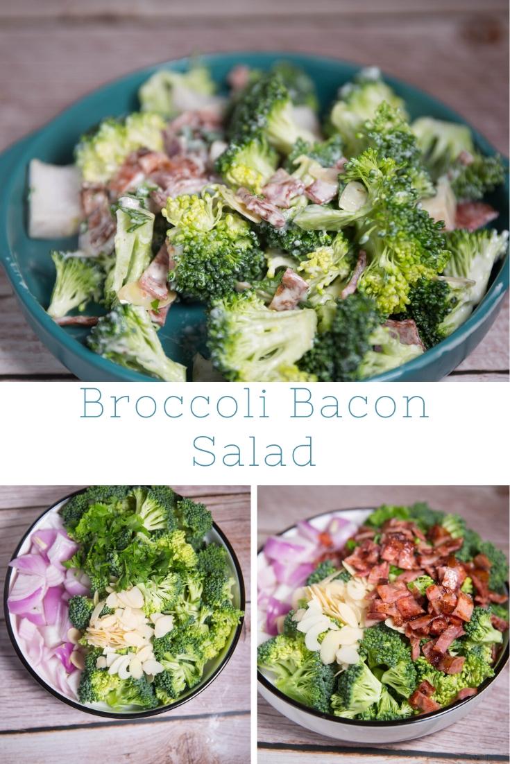 How do you make Broccoli and Bacon Salad