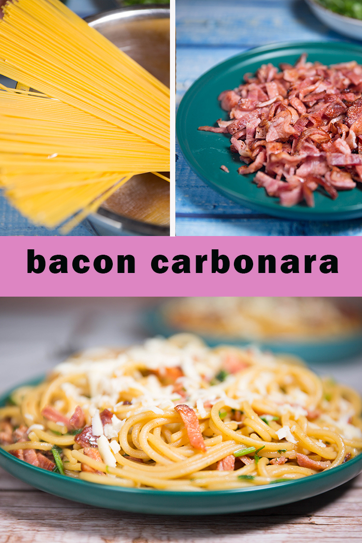 HOW DO YOU MAKE PASTA CARBONARA?