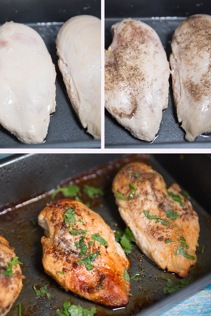 How to Bake Chicken Breasts !