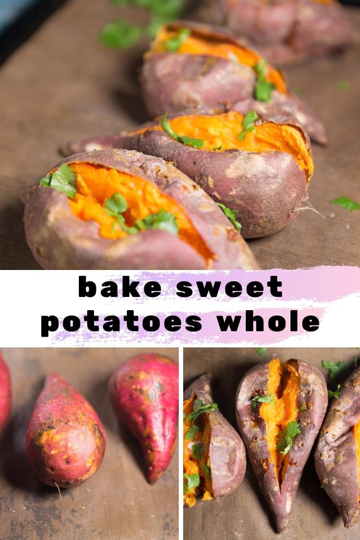 How to Bake Sweet Potatoes: