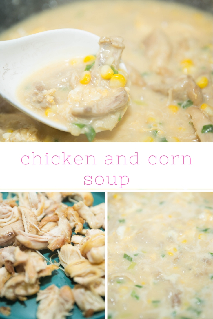 how to make chicken corn soup recipes