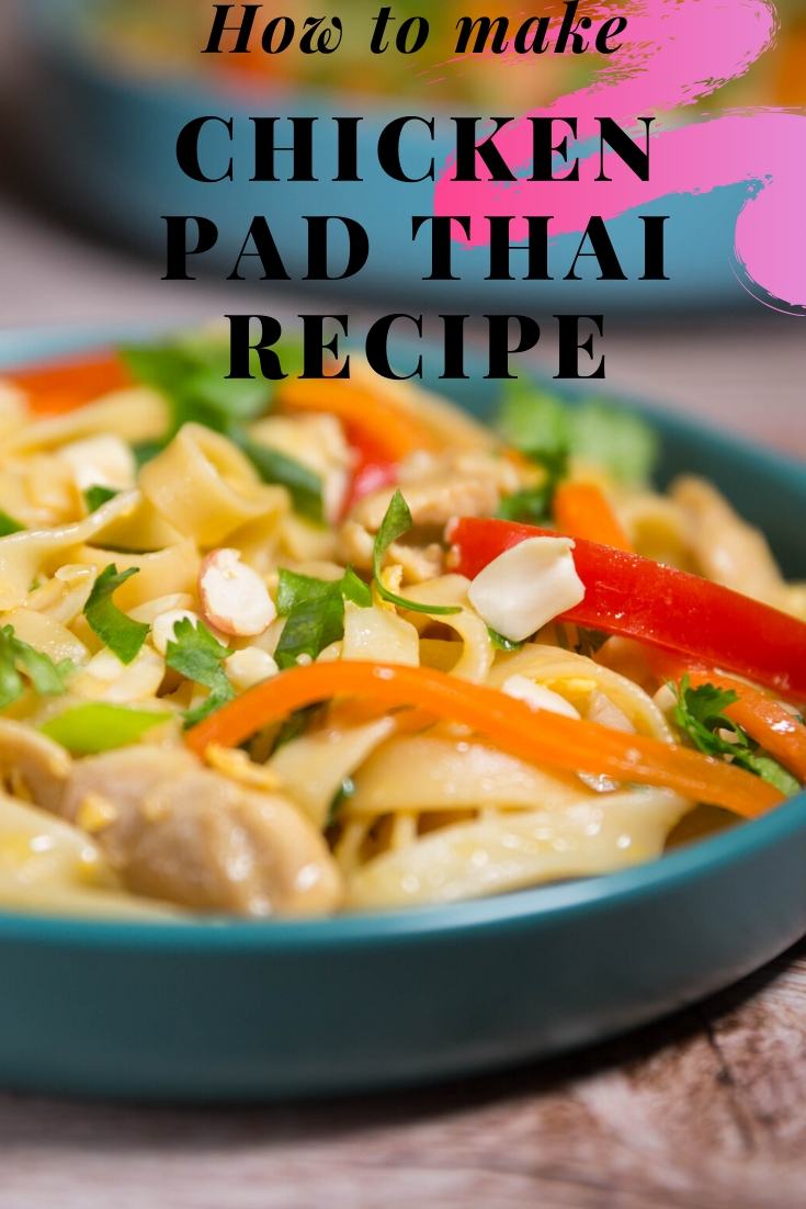 Pad Thai noodles recipes
