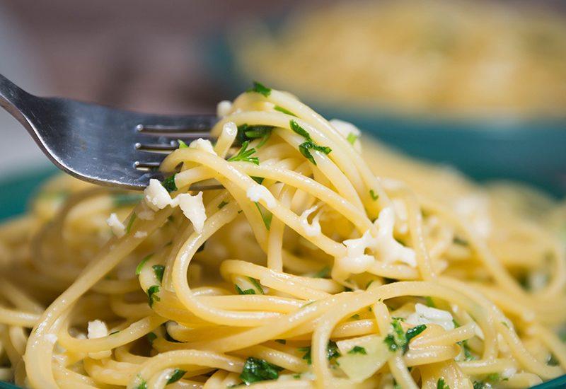 garlic butter pasta