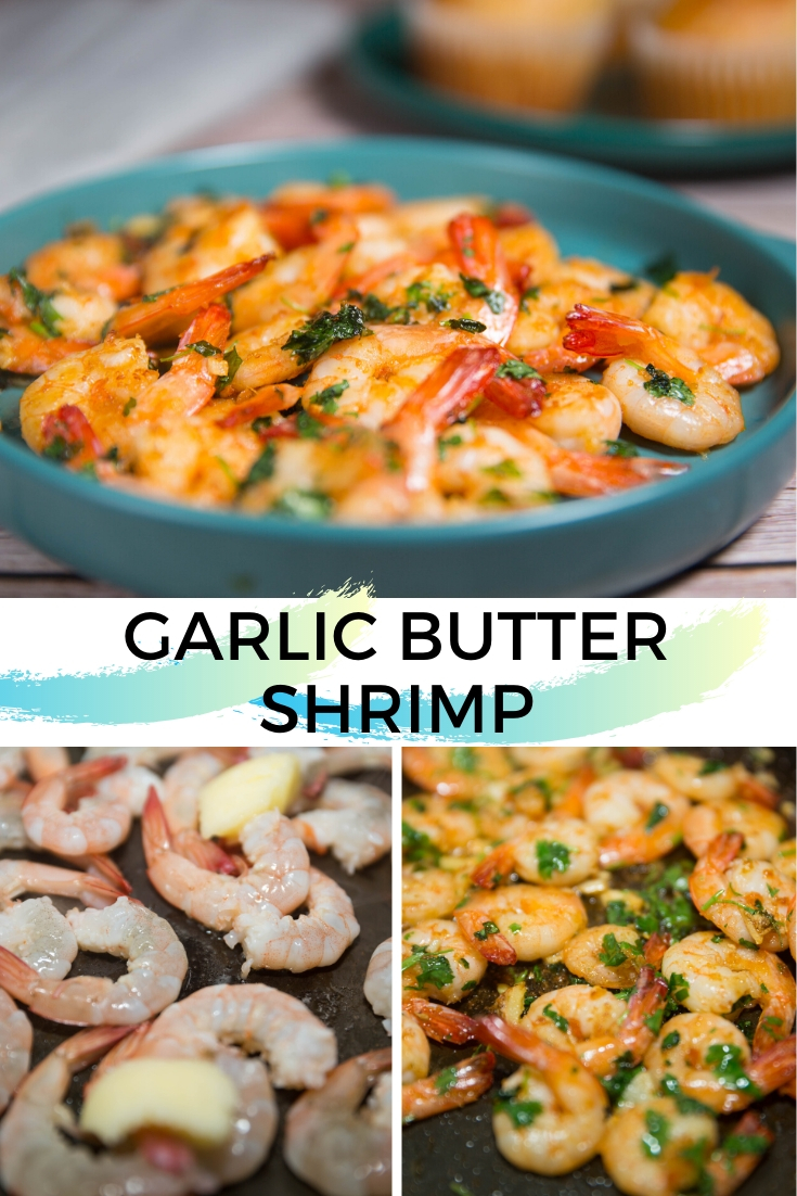 How to make garlic butter shrimp!