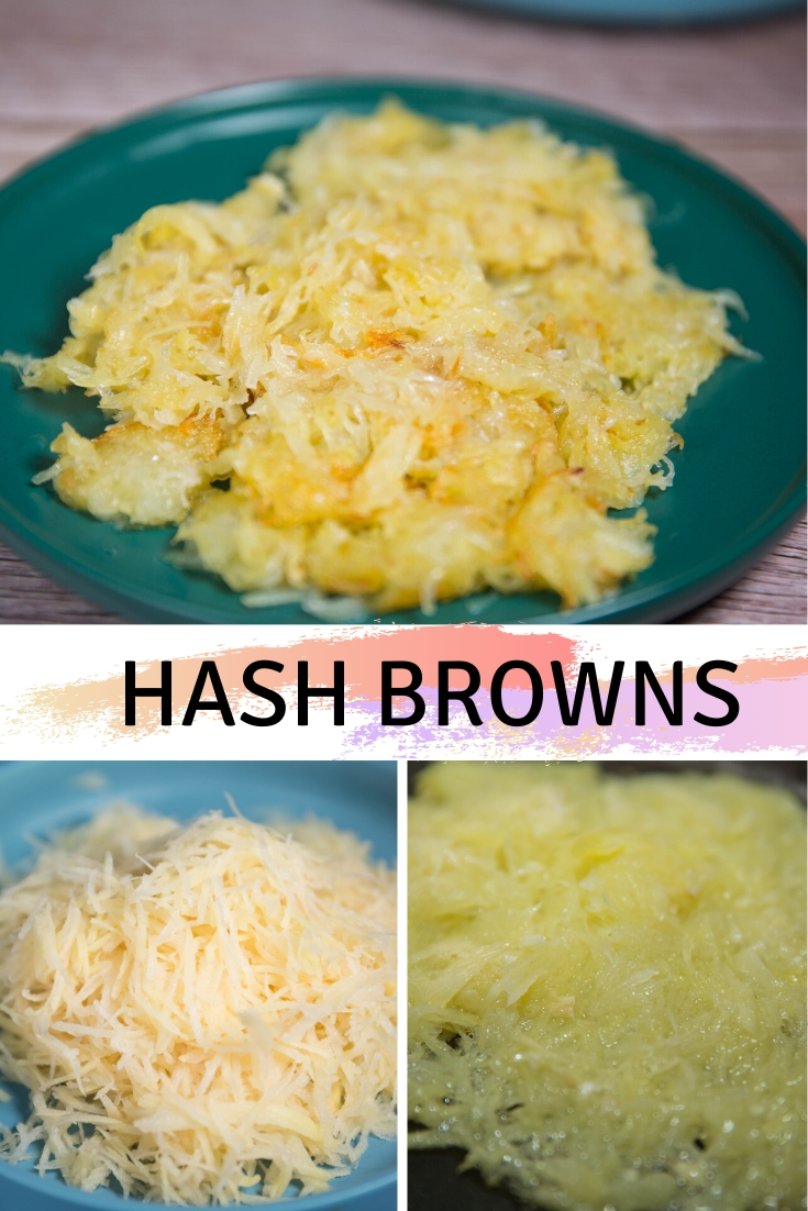 Ingredients for Homemade Hash Browns