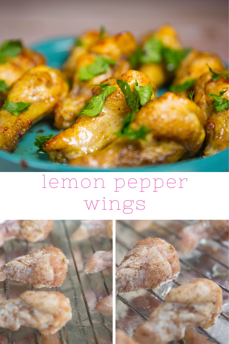 HOW TO MAKE BAKED LEMON PEPPER WINGS