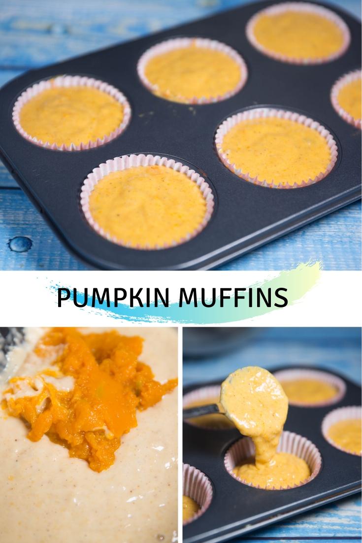 To Make Pumpkin Muffins :