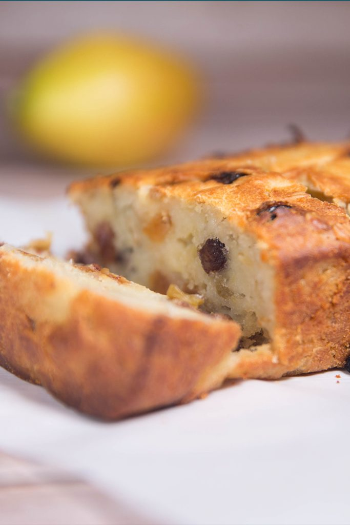Pear Raisin wheat bran Bread