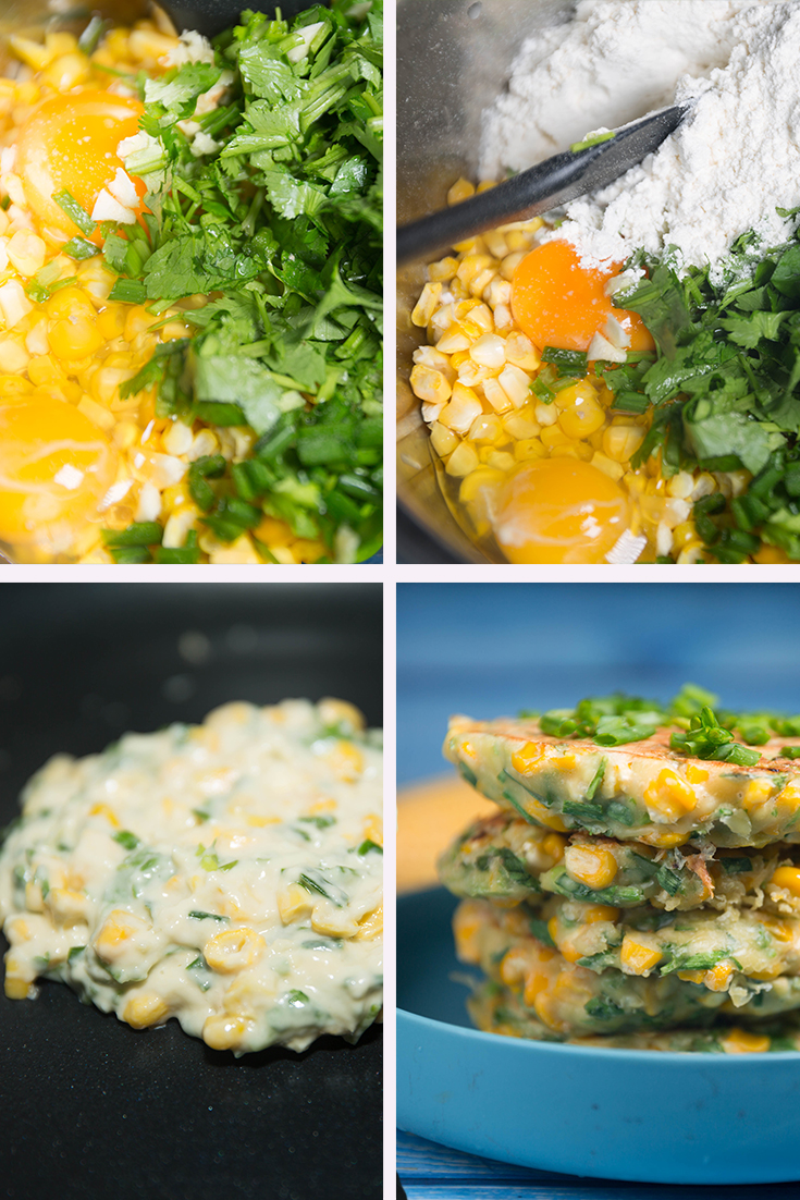 How to Make Corn Fritters !