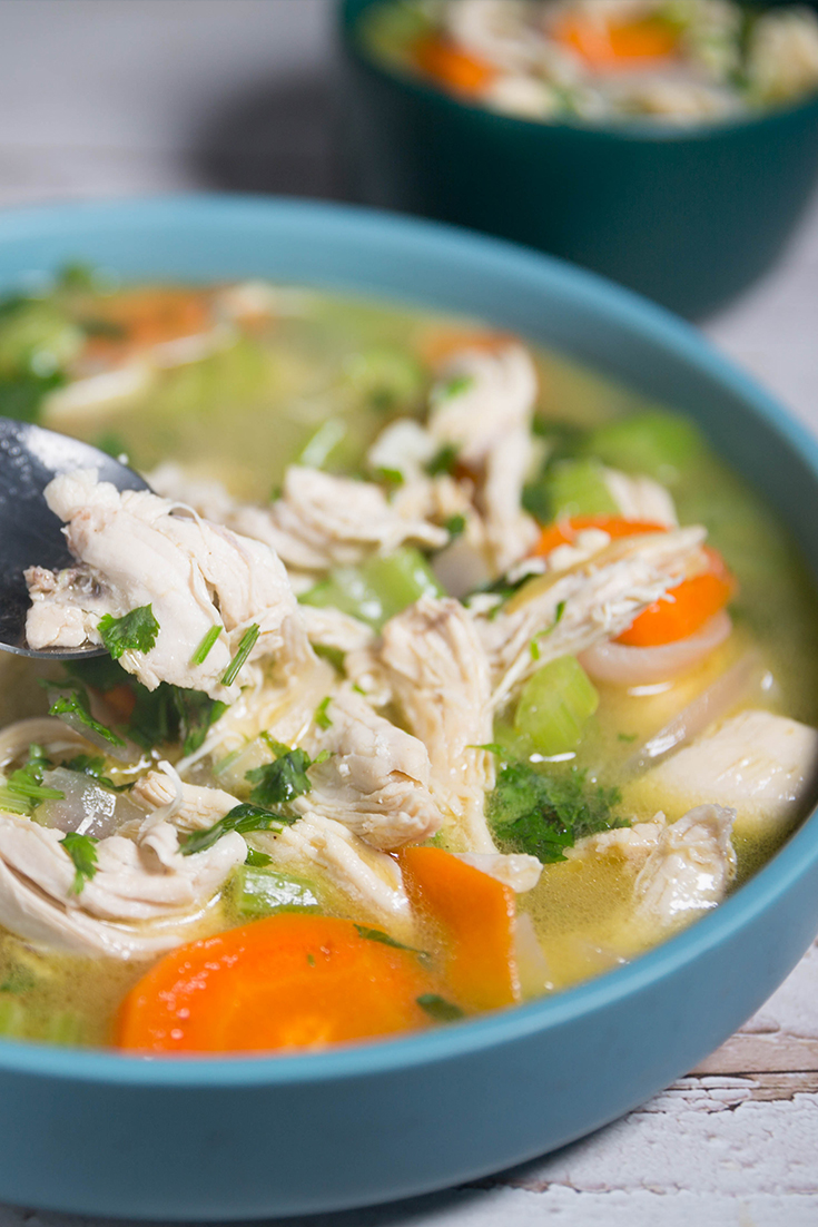 simple chicken soup recipe