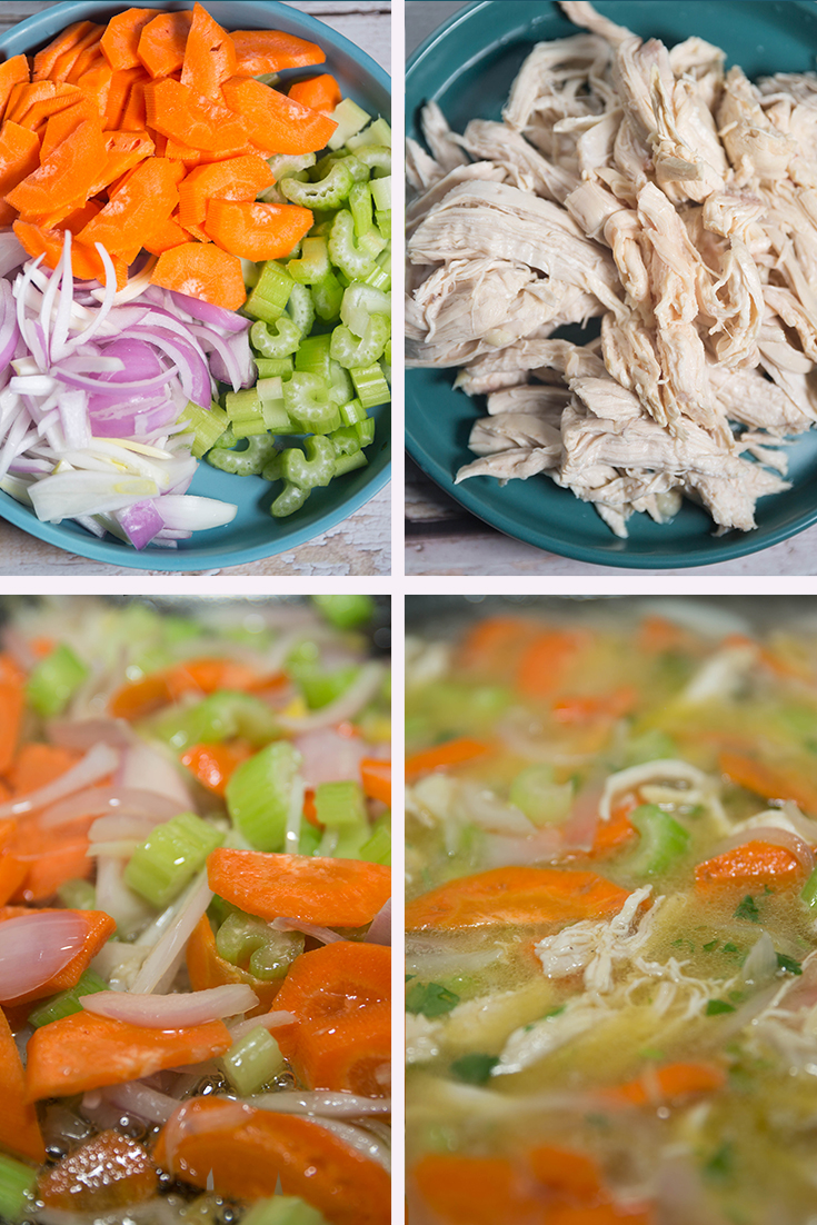 How to Make chicken soup!