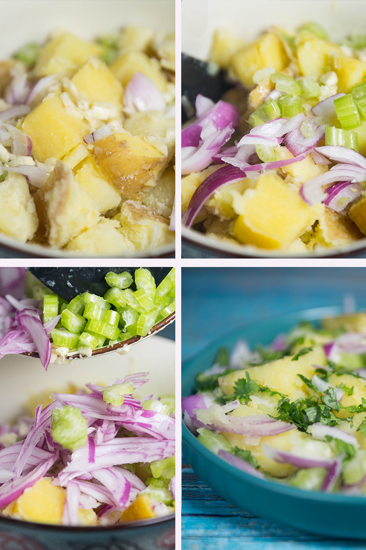 HOW TO MAKE VEGAN POTATO SALAD