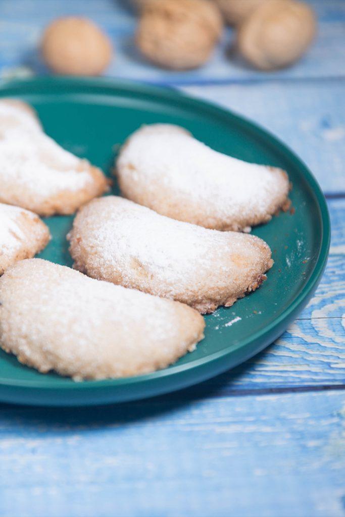 walnut Crescent Cookies