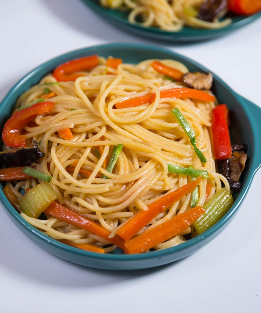 how to make Vegetable Lo Mein Recipe