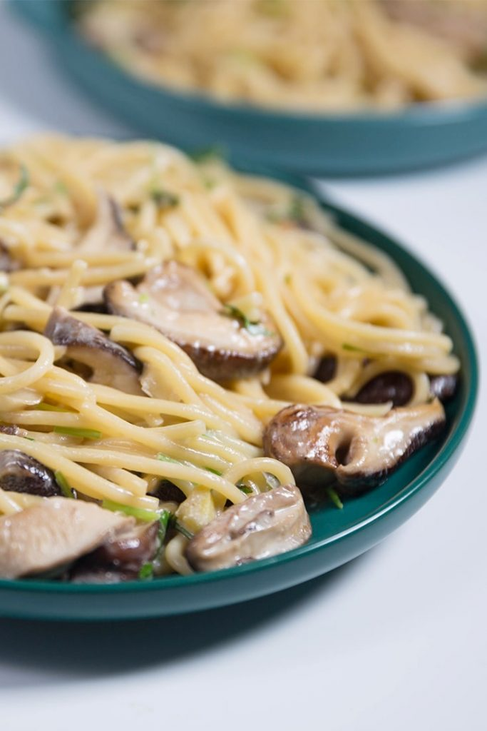 How To Make Creamy Mushroom Pasta