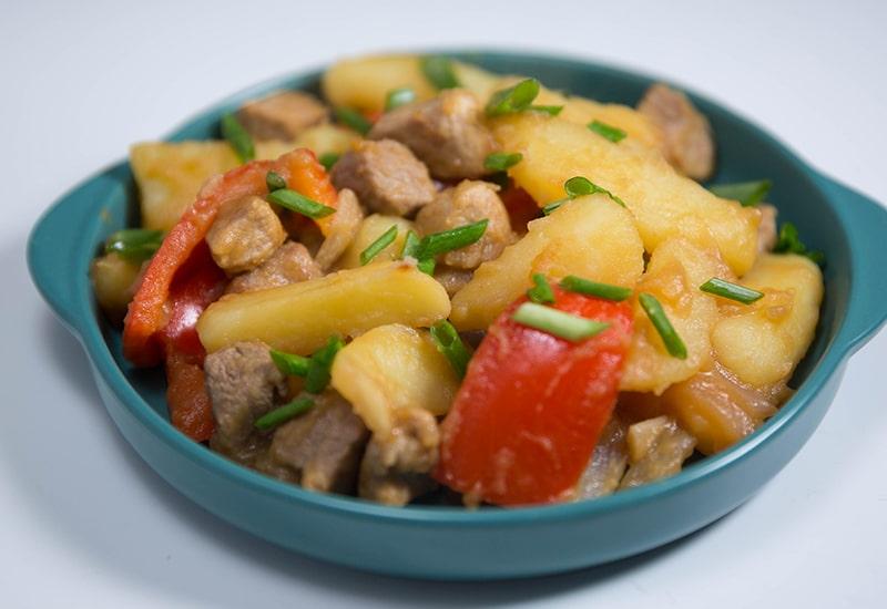 pork with potatoes recipes