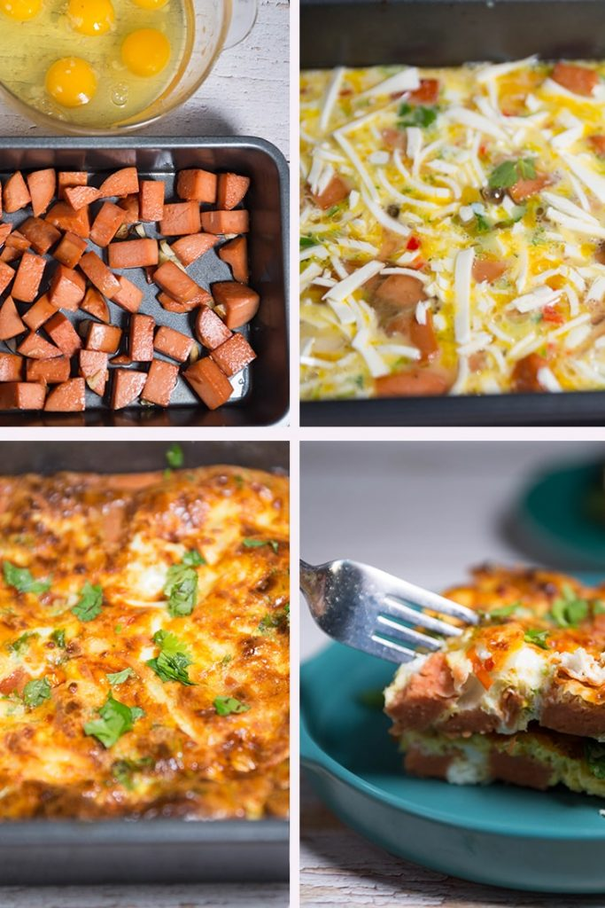 HOW TO MAKE SAUSAGE EGG BREAKFAST CASSEROLE