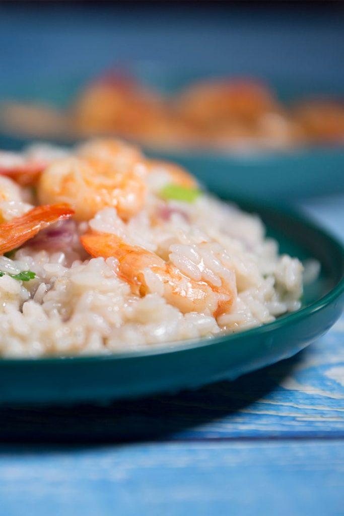 how to make shrimp risotto recipe