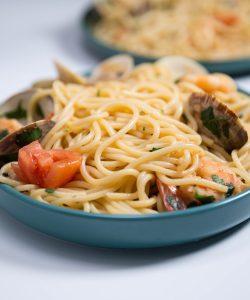 Shrimp and Clam Pasta