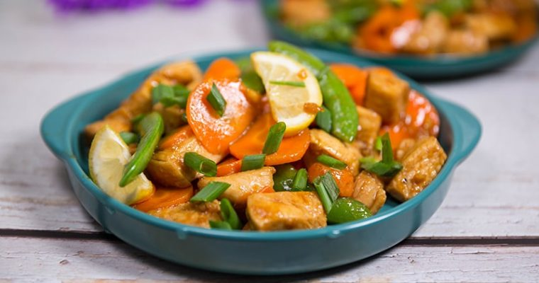 chicken with sugar snap peas recipes