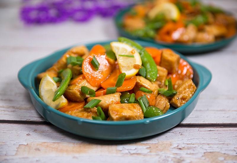 chicken with sugar snap peas recipes