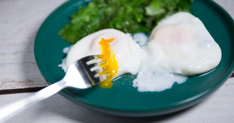 easy poached eggs