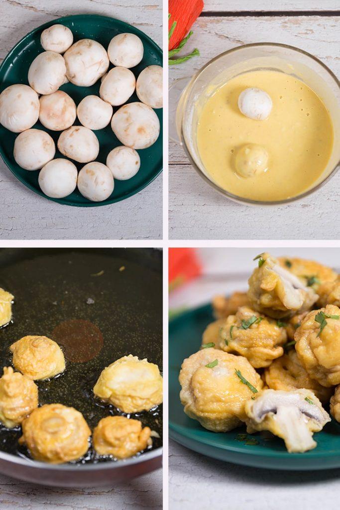 fried mushrooms recipe