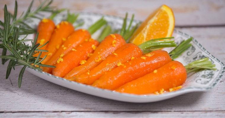 orange glazed carrots