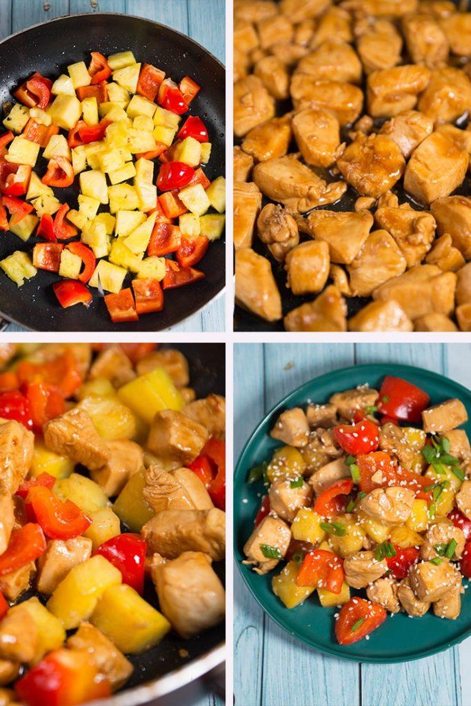 How Do You Make Hawaiian pineapple Chicken