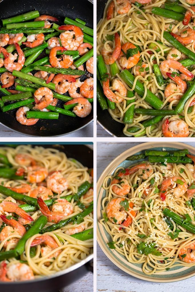 How to Make Shrimp Scampi Pasta:
