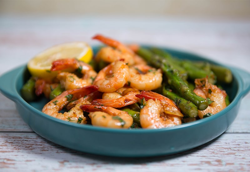 Shrimp and asparagus recipes