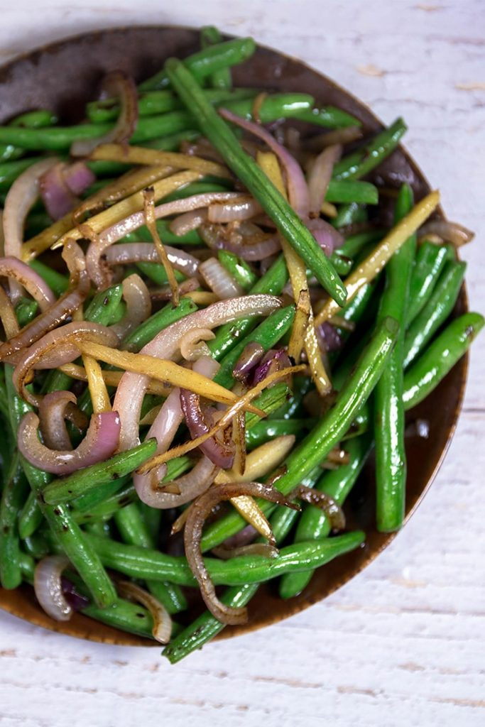 Stir-Fried Green Bean with Ginger