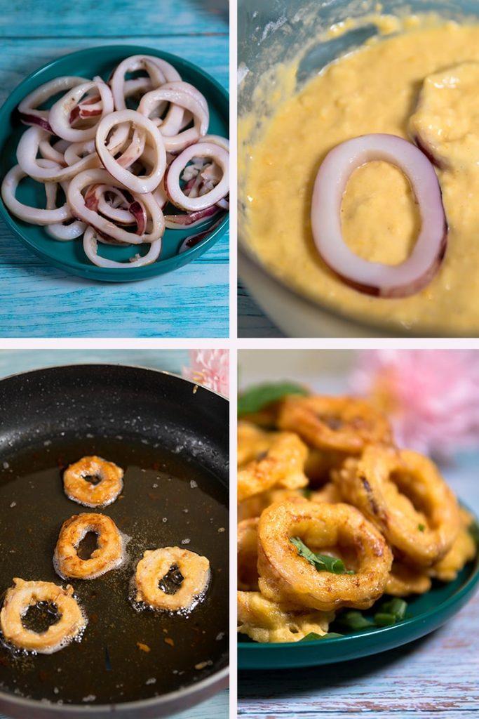 fried calamari recipes