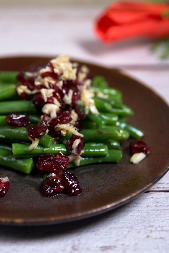 green beans with cranberries recipe