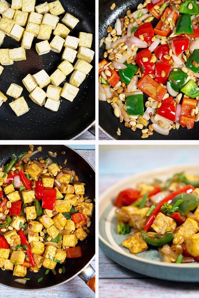 kung pao tofu