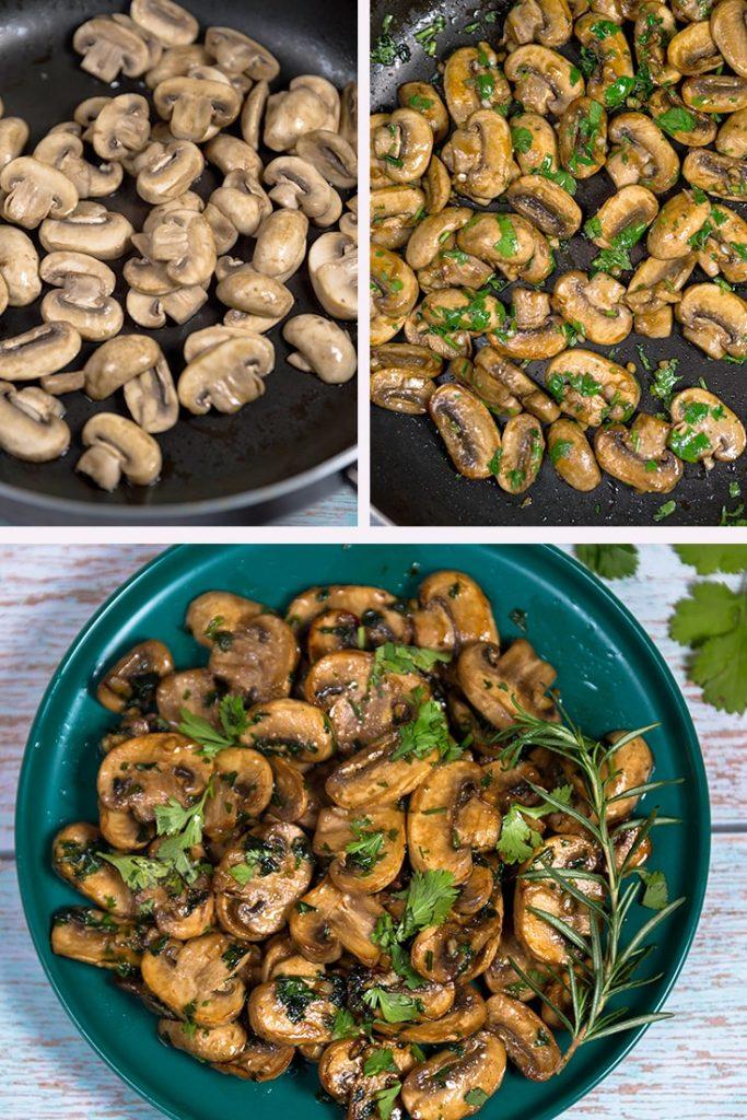sauteed mushroom recipe