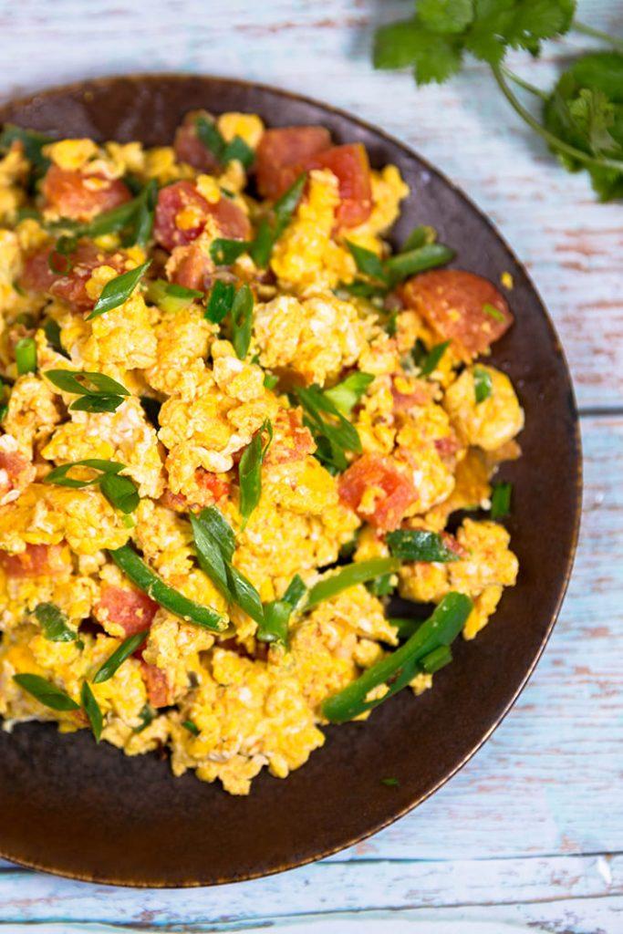 Huevos a la Mexicana recipes