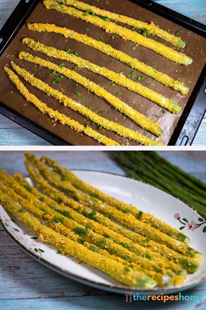 How To Make Oven Baked Asparagus Fries recipes