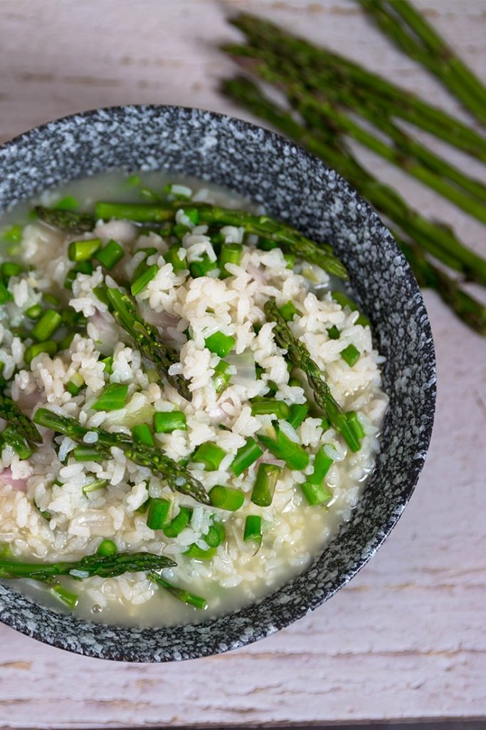 HOW TO MAKE ASPARAGUS RISOTTO!