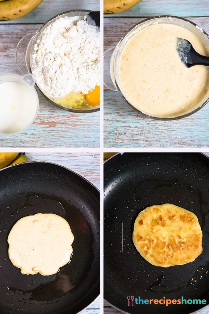 How to make a banana pancake recipe!