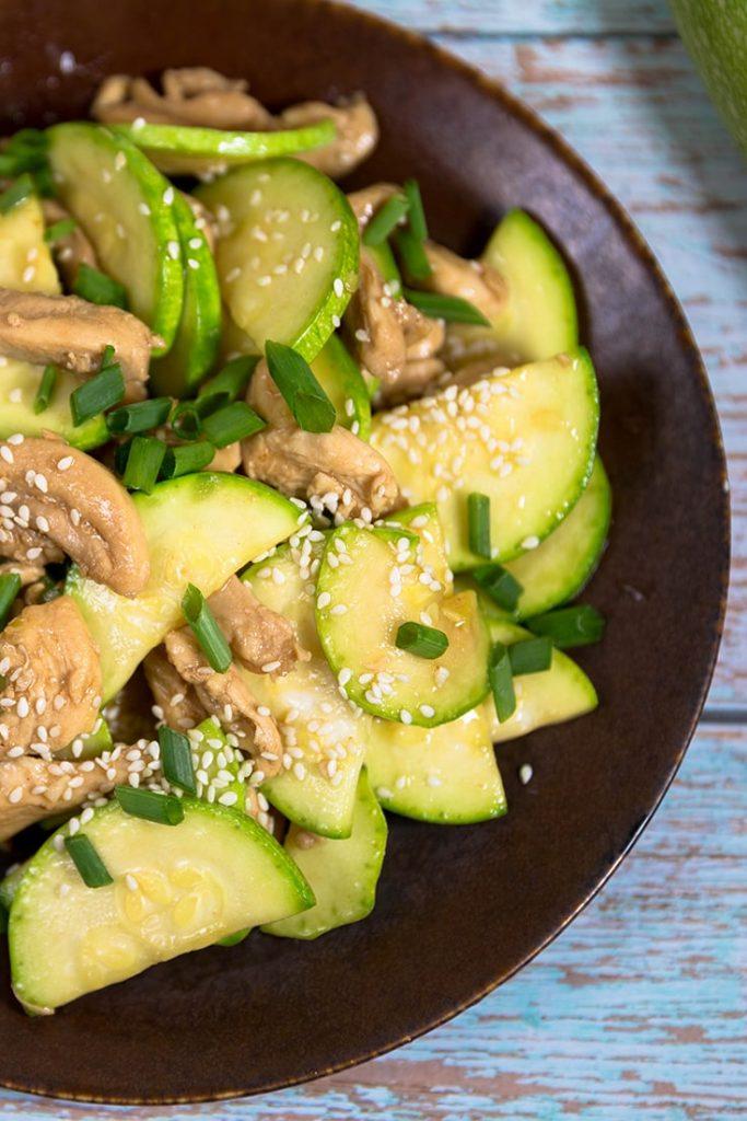 How to make chicken zucchini stir fry recipes!