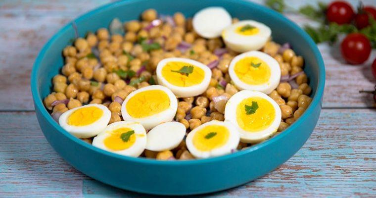 chickpea egg salad