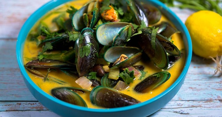 curry mussels recipe