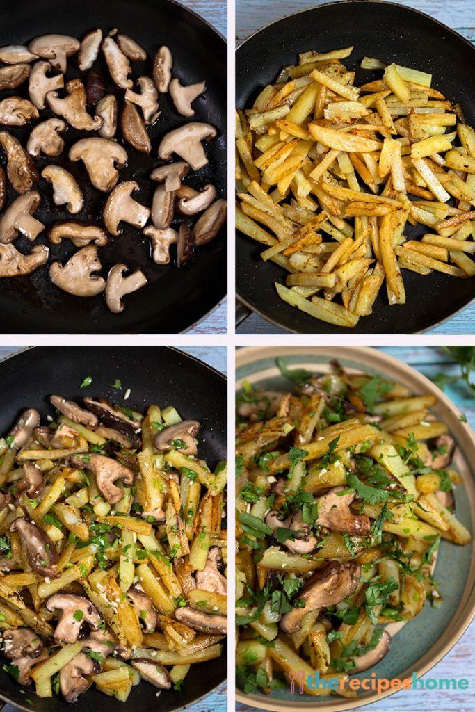 How to make Mushroom and Potatoes recipes!